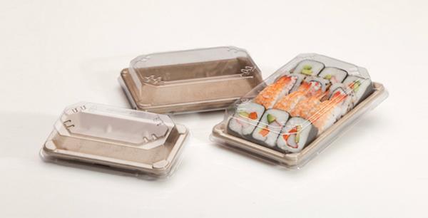 Barquette sushi pulpe