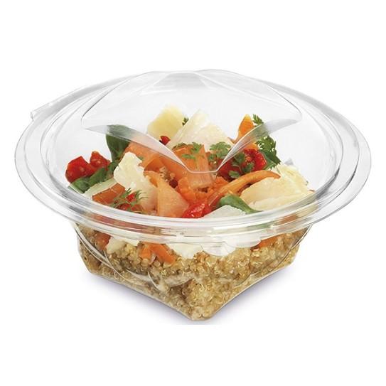 Bol Salade Plastique Charnière