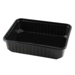 miniature Barquette Plastique Multifonction Noire