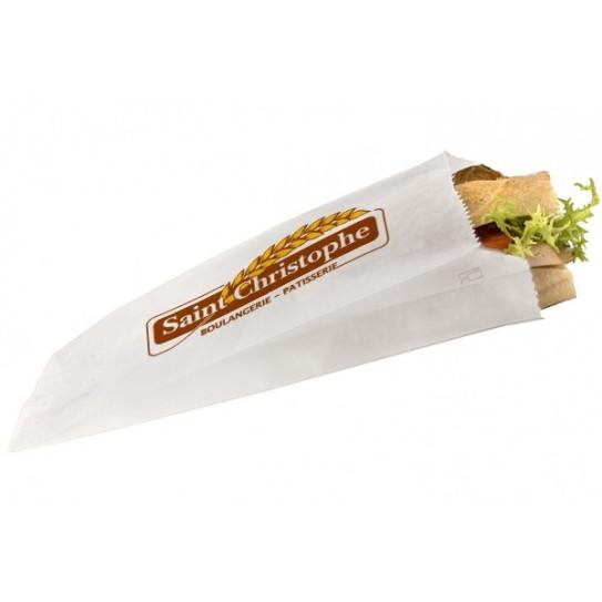 Sac sandwich papier personnalisé