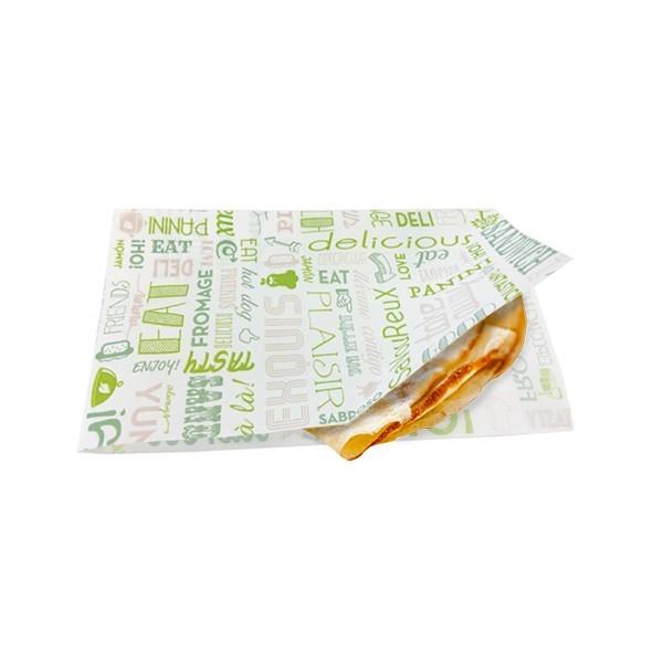 Sachet Papier Ouvert