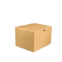 miniature Boite Carton Kraft Snacking