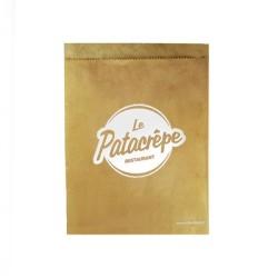 Pochette crêpe papier personnalisée