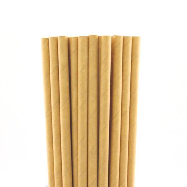 Pailles carton papier kraft