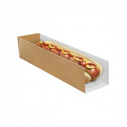 miniature Etui hot-dog Carton