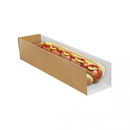 Etui hot-dog Carton