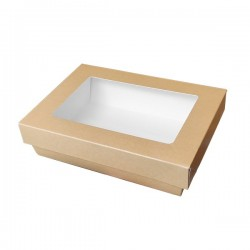miniature Boite Bagel Carton Rectangle