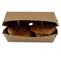 miniature Boite burger kraft double