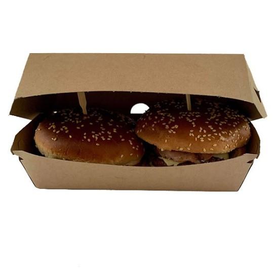 boite burger kraft double
