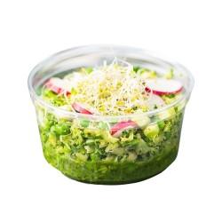 miniature Pot Rond Plastique Alimentaire