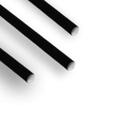 miniature Pailles Carton Papier Noire