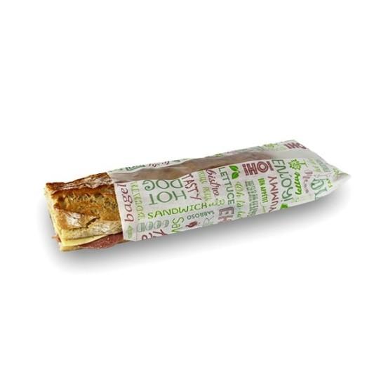Sac sandwich avec fenêtre centrale