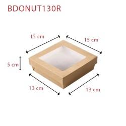miniature Boite Bagel Carton Carrée