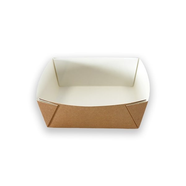 Barquette Carton Carrée Ingraissable