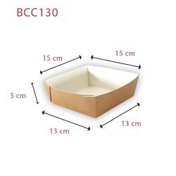 miniature Barquette Carton Carrée Ingraissable