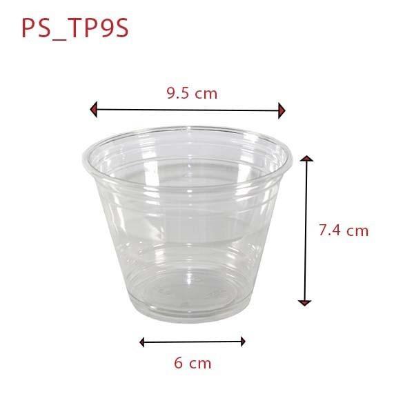 zoom Pot Dessert Plastique TP9
