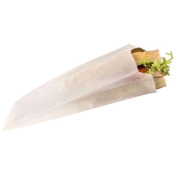 Sac Sandwich Papier Kraft Blanc