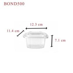 miniature Barquette plastique Ondipack + couvercle