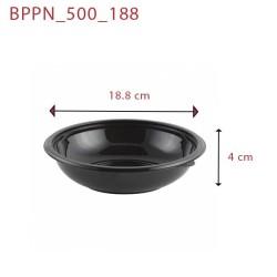 miniature Bol plastique Noir PP