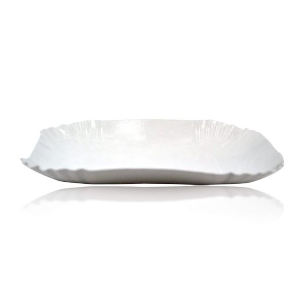 assiette carton rectangle pour cr pe sml food plastic. Black Bedroom Furniture Sets. Home Design Ideas