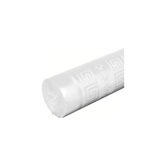 Nappe Papier Damassé Blanc