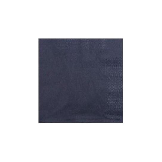 Serviette 2 plis 33x33 Noir