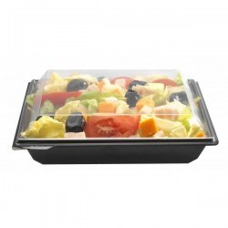 Barquette salade carrée Takipack + couvercle