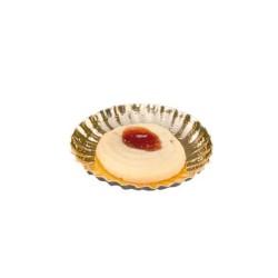 miniature Mini assiette carton or