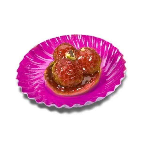 Mini assiette carton or