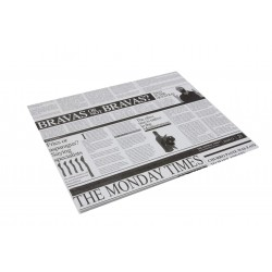 miniature Papier ingraissable rectangle Newspaper