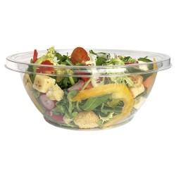 miniature Bol Salade Plastique Rond Plat