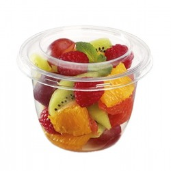 miniature Pot Rond à Dessert Cristal