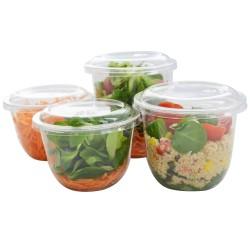 miniature Pot Rond à Salade Cristal