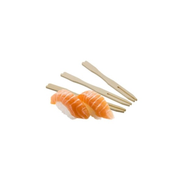 Pic Brochette Bambou Double Pointe