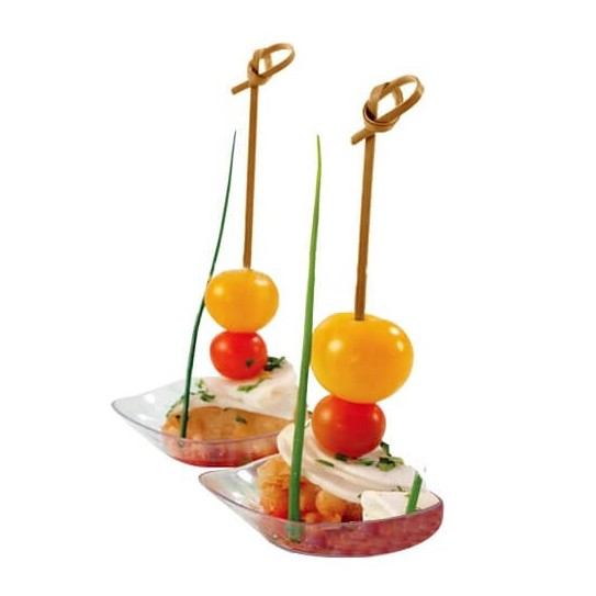 Pic Brochette Bambou Noeud