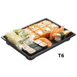 miniature Barquette Sushi + couvercle