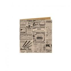 miniature Papier ingraissable ouvert rétro