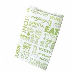 miniature Sac Sandwich Papier Vert