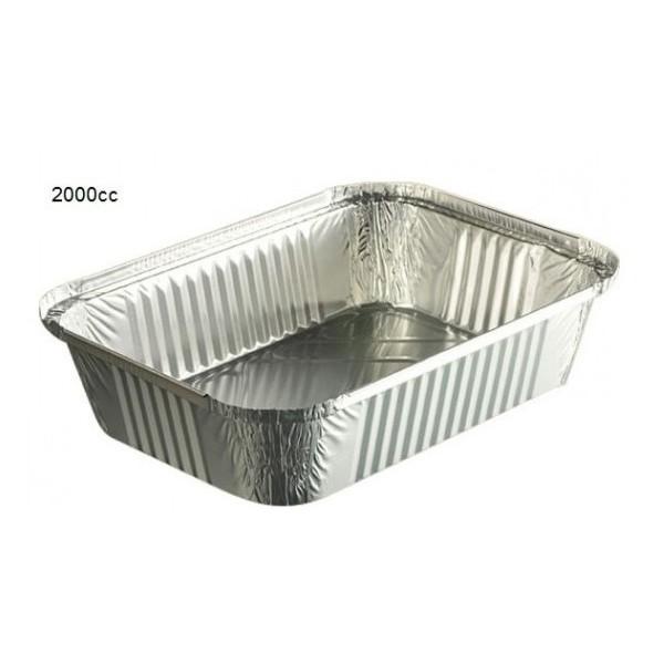 zoom Petites barquettes aluminium