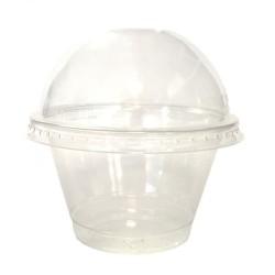 miniature Pot à Dessert Plastique Cristal TP7