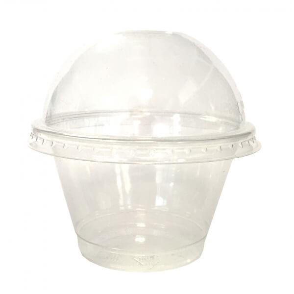 zoom Pot à Dessert Plastique Cristal TP7