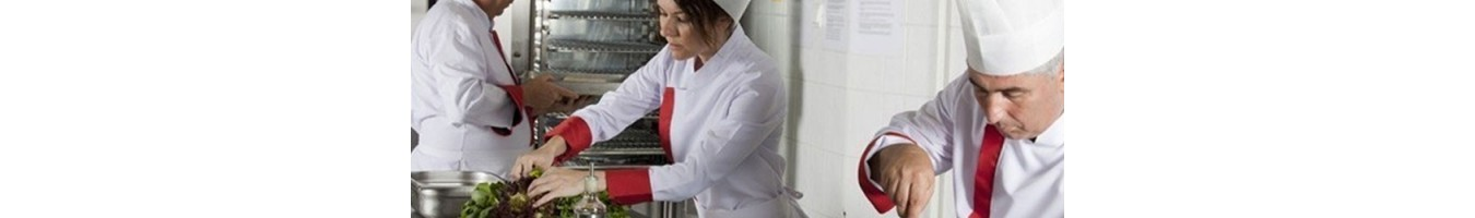 Vêtements pour restaurateurs et traiteurs - SML Food Plastic