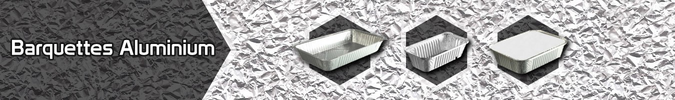 Barquettes Aluminium pour les professionnels - SML Food Plastic
