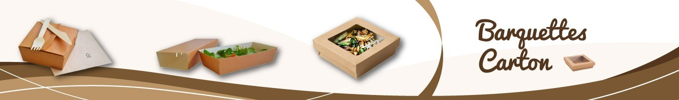 Barquettes Carton pour Emballage Alimentaire - Sml Food Plastic