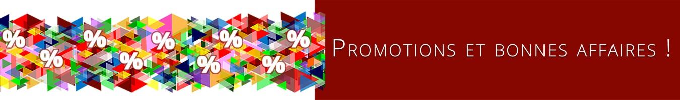 Promotions - Coin des bonnes affaires