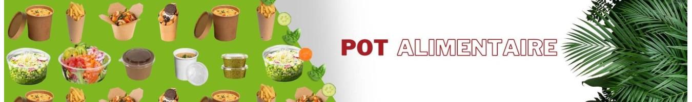 Pots Alimentaires en Plastique et Carton - SML Food plastic