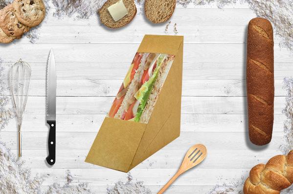 Coque carton pour sandwich